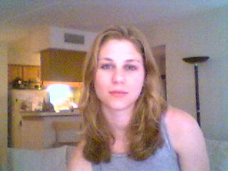 Malu minha querida namorada - Uma fotinho de Dallas (USA) por webcam