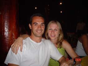 Marco e Malu - Restaurante Fratelinni - Americana - Dezembro 2003