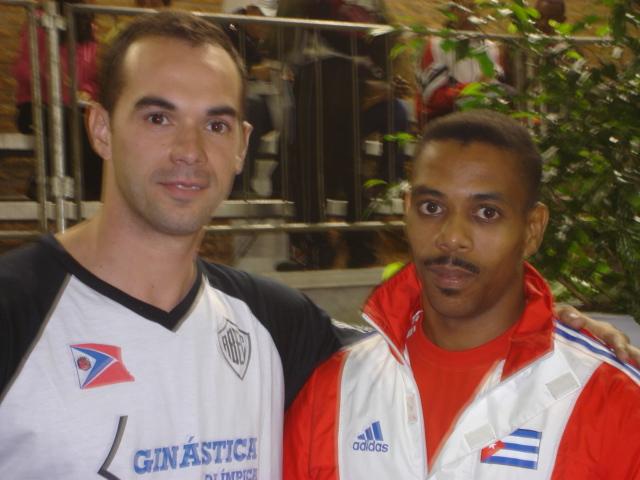 Eric Lopez - ginástica olímpico cubano - São Bernardo do Campo, 2006
