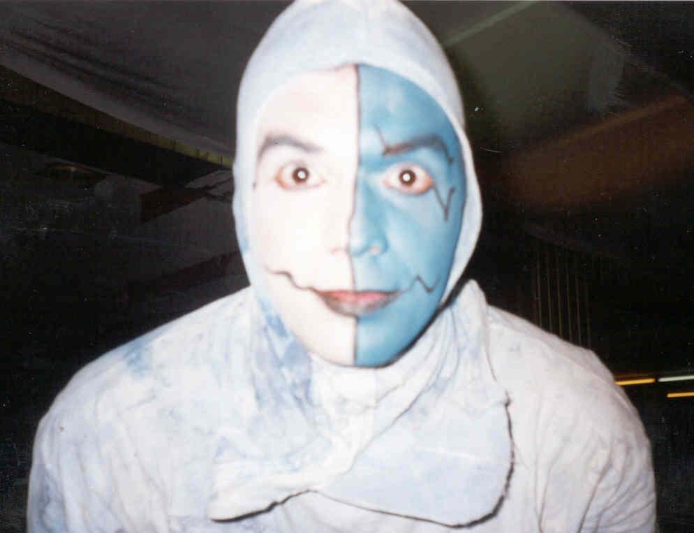 Máscara espetáculo Zaragatus - La Cremallera Teatre 2002