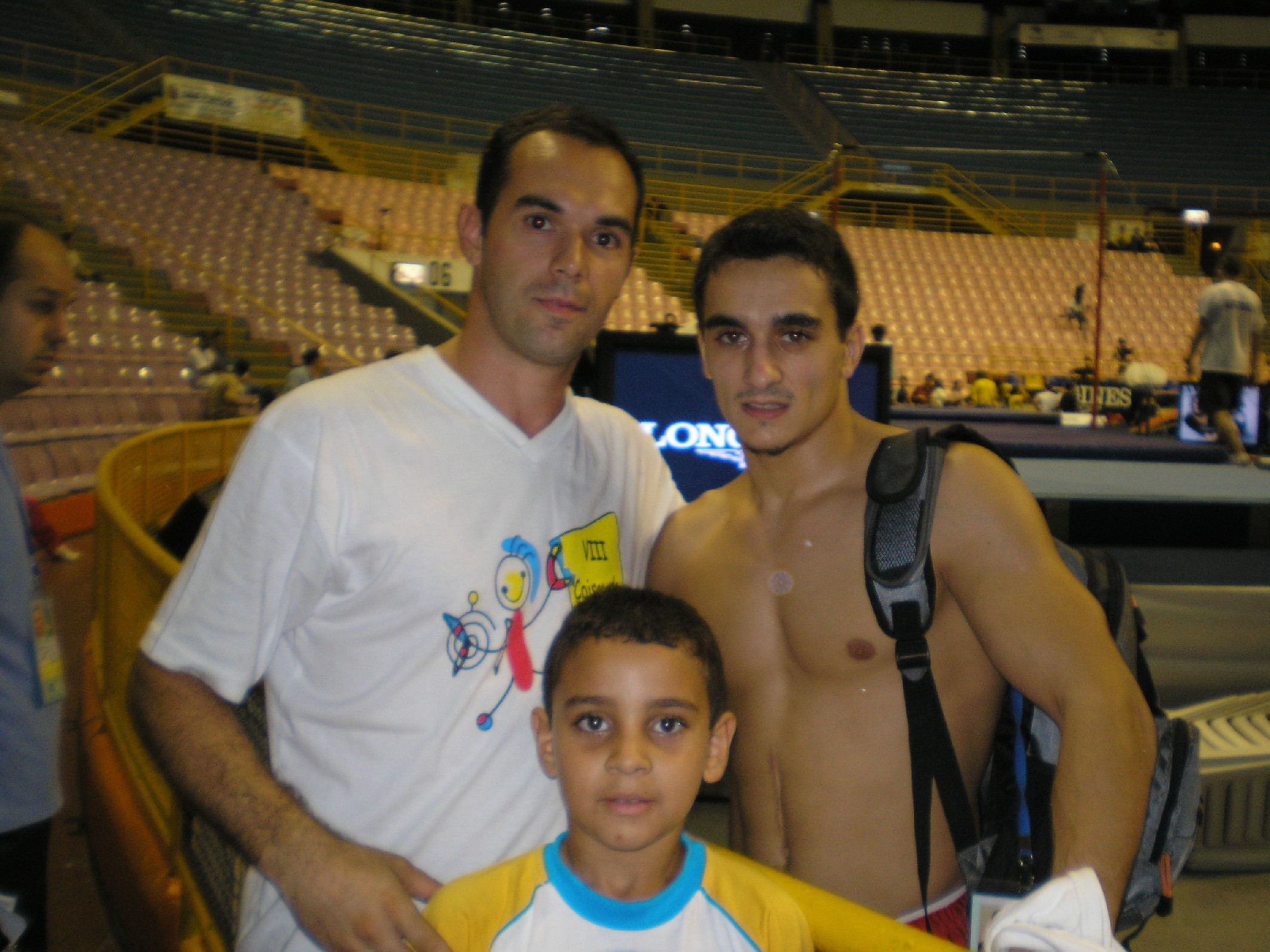 Dragulesco (Romenia) e meu sobrinho Renan - Copa Mundo GA em SP