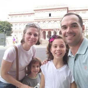 Visitando Casa Rosada - BsAs.