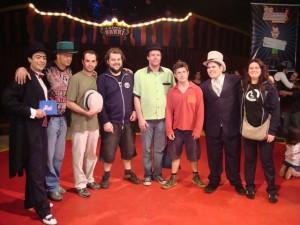 2a. Mostra Competitiva de Malabares JR - jurados 2008: Pablo, Cupin (Marcos Casuo), Marco, Junior, Alex Roit, Maarcelo, Matheus e Ana.