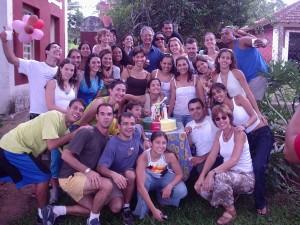 Festa de confraternização do GGU em 2005 na Fazenda em Jaguariuna - SP