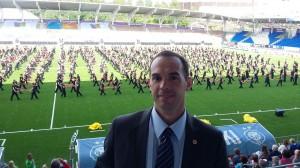 World Gymnaestrada, julho de 2015 em Helsinque (Finlândia) - Cerimônia Abertura