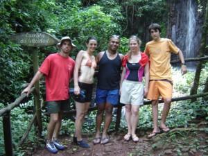 Brotas, cachoeiras - 2009