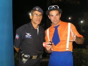 Até a policia se diverte - Brotas-SP, 2009
