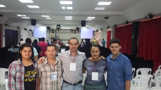 Congresso Educação Física (Univ. de Los Llanos - Colômbia) - colegas da Univ. de Medellin, agosto, 2015