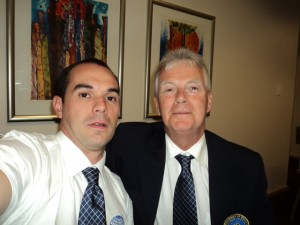 Fleming - Pres. Federação Dinamarquesa Ginástica - Cape Town, 2013