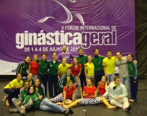 GGU - IV Forum Internacional de Ginástica Geral - GMU - UNICAMP - julho 2010