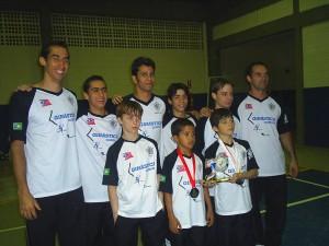 Equipe de Americana - SP nos Regionais 2006  - Campinas - SP