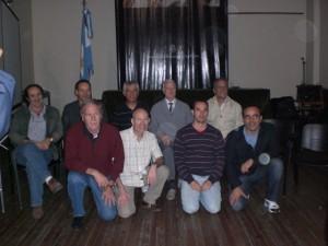 Junta Diretiva - AIPRAM 2011 La Plata (Paco Lagardera, Pierre Parlebas, Jorge Saravi, João Ribas, Luc Collard, José H. Moreno ...)