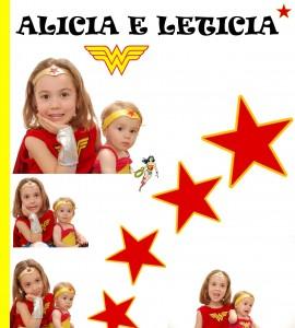 Mulheres maravilha - LETICIA - ALICIA 2012