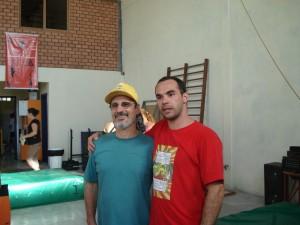 Marco e Dilmar - Circo Girassol POA - 2008