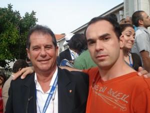 Marco e Manuel Boa de Jesus - Presidente da FGP 2009