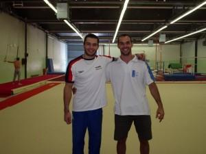 Marco e Victor Cano - membro da seleção espanhola GAM de 2000 a 2006 - CAR - Sant Cubar - BCN, 2004