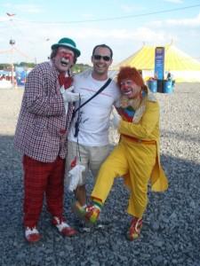 Marco e os clássicos palhaços - Festival Paaulista Circo - Limeira - SP 2009