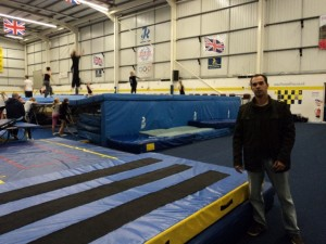 Visita ao Rebound Trampoline Center - UK 2010