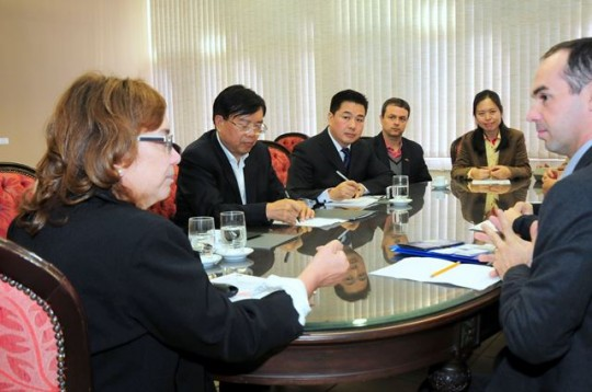 Visita-Beijing Sport University-China-Vreri-jun 2015