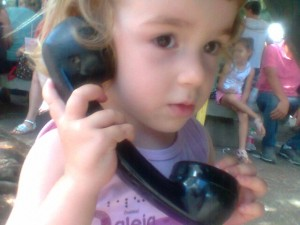 Olha que eu ligo para você!