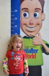 Alicia no Walter Parque em Poços de Caldas-MG, julho de 2014