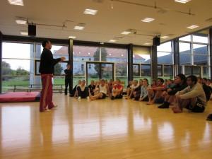 Aula de Ginástica em Ollerup - Dinamarca, 2010