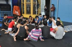 Curso acrobacia: La Tarumba 2008 - Lima - Perú