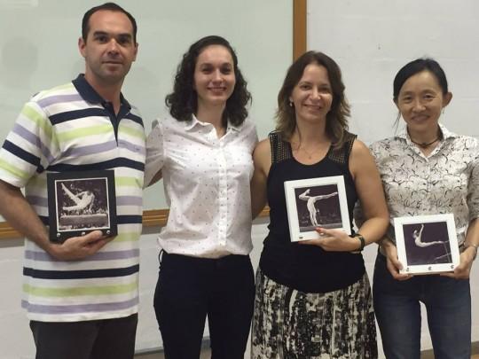 Defesa de mestrado - Leticia bartholomeu - UNESP RC - fev. 2016