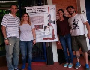 Defesa do TCC de Marina Prado, julho 2014 (Teresa, Mallet, Marina) UNICAMP