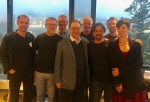 Pesquisadores: Patrice Aubertin, Patrick Leroux, Dean Kriellars, Michel, Doug, Alisan Funk and Phil