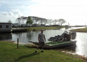 Passeio Airboat - Florida EUA, 2014