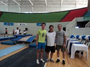 Campeonato Brasileiro de Trampolim 2013 - Goiânia (Rubens e Murilo)