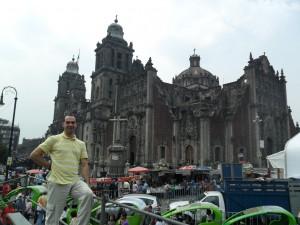 Cidade México-2012- Ruinas - Templo Mayor - Astecas
