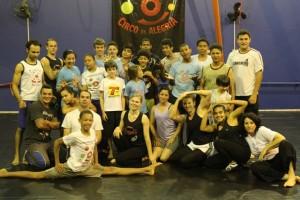 Curso de Pedagogia do Circo - Escola Circo da Alegria - Toledo - PR, set. 2011