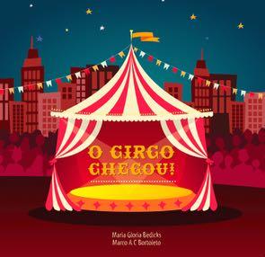 O circo chegou - capa