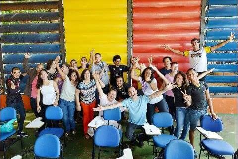 Formação no Instituto / Escola de Circo Dom Fernanado (PUC-Goiás / Goiânia), junho 2016