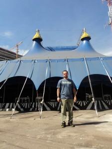 Visitando o Crescer e Viver - RJ - Festival Internacional de Circo, maio de 2014