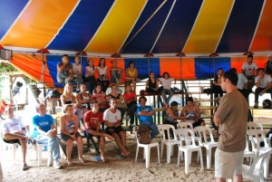 Curso de Segurança no Circo - Mostra ASFACI - Sorocaba - SP, 2010