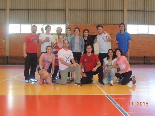 Curso de Pedagogia das atividades circenses - Universidade de Caxias do Sul -RS, nov 2015