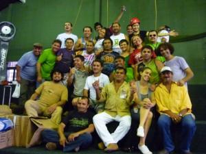 Curso sobre Seguranca no Circo - Funarte - Sesc Manaus 2010
