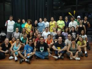 Curso de Pedagogia das ativ. Circenses - Sesc Santos - SP, 2009