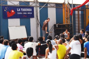 Palestra Segurança no Circo - La Tarumba - Lima Perú, 2013