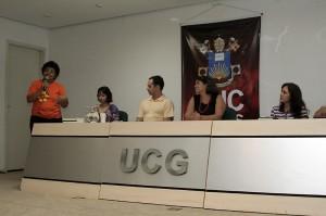 Palestra - debate PUC Goiânia - Festival Palhaçada 2009