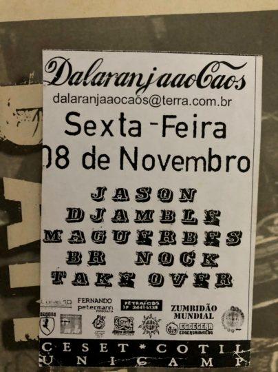 Djamblê, formação: Léo, Naninho, Marco e Gambá!
