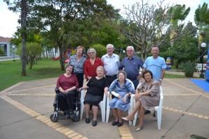 Em 2014, ao lado dos cunhados e cunhadas (Piracicaba-SP)