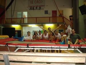 Curso Acrobacia - Escola Pernambucana de Circo - Recife,2009