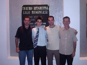 Familia Bortoleto 2007 depois da Formatura no Teatro em Americana