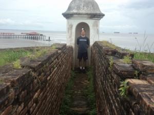Na linha do Equador: Forte de Macapá - AM as magens do Rio Amazonas, 2013