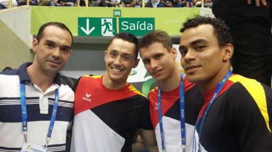 German gymnasts - Copa do Mundo de GA - Sao Paulo, maio de 2015