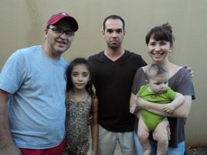 Ieda, Wilson e familia - Maringá - PR, 2012